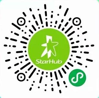 StarHub微信乐游卡-微信小程序二维码