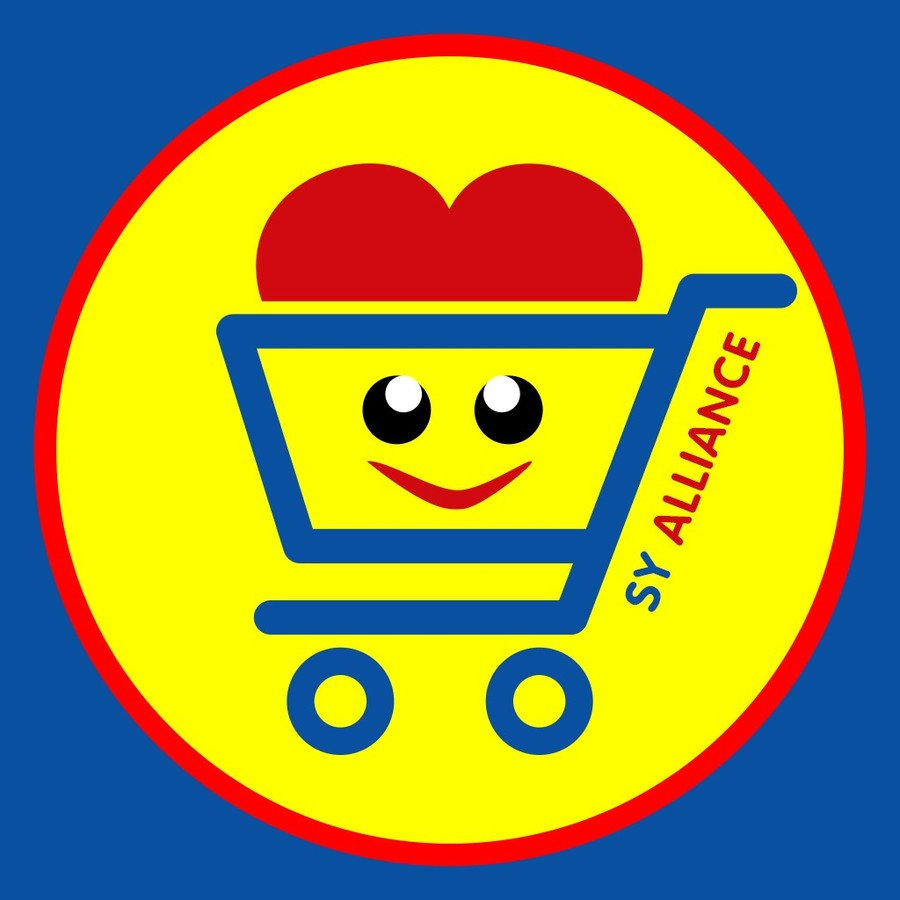 超市简笔画步骤
