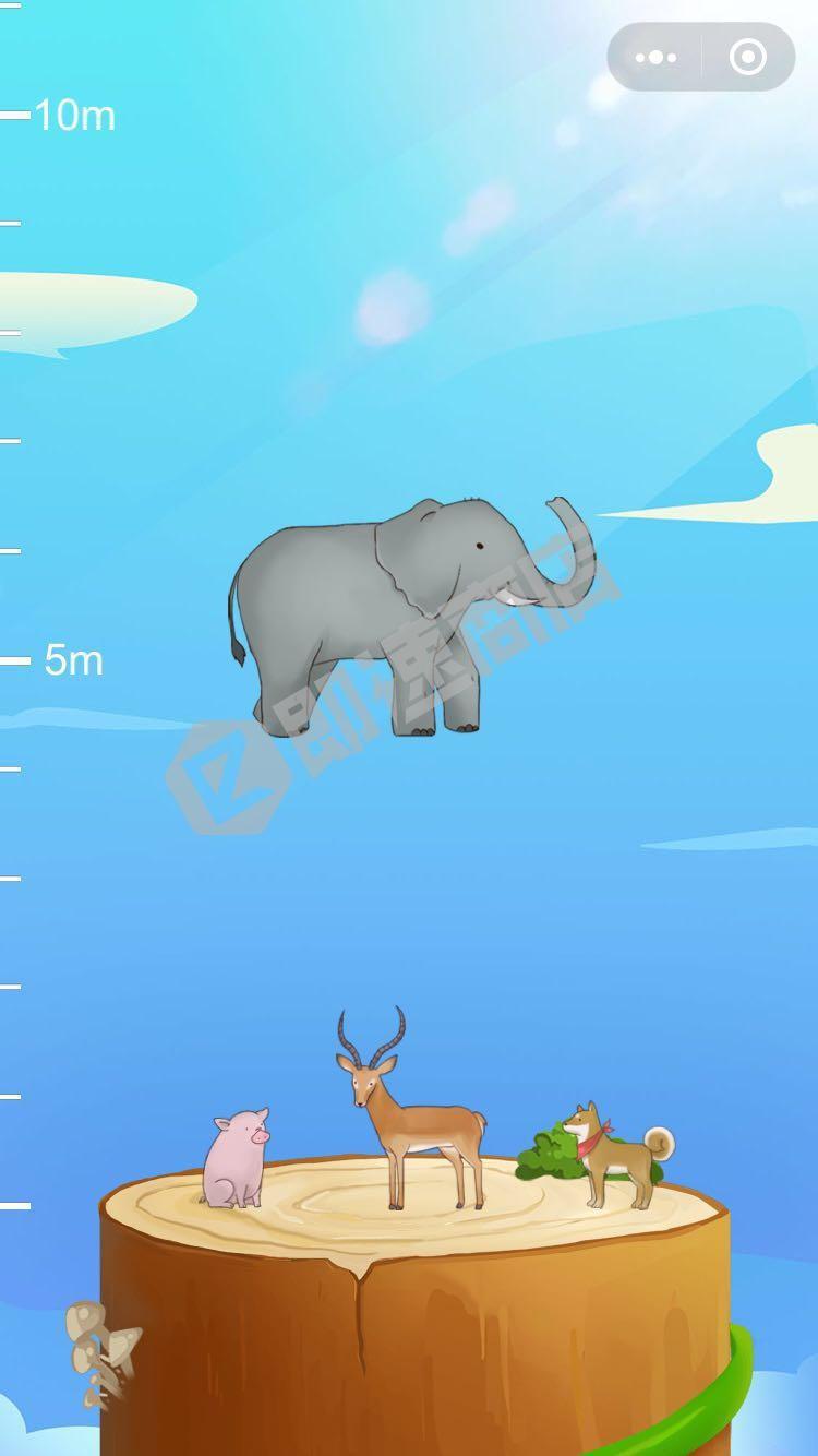 动物涨姿势微信小程序测评