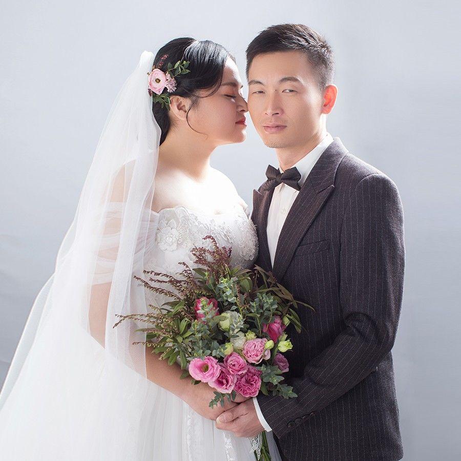 張育文&李秋琴微喜帖微页模板