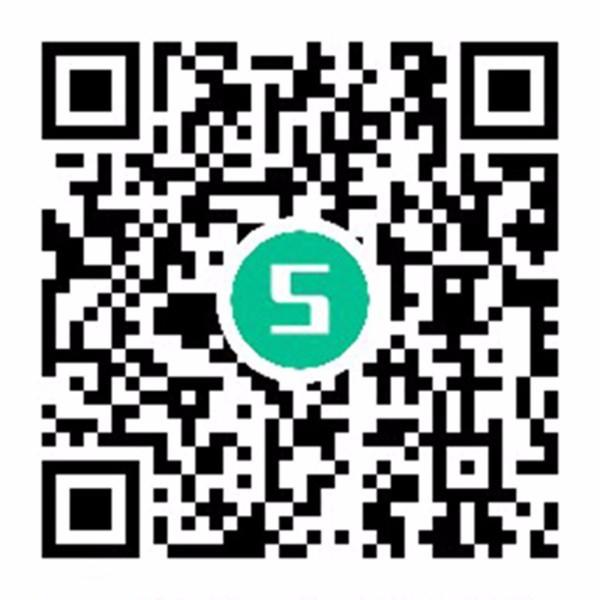 五百丁简历-微信小程序二维码