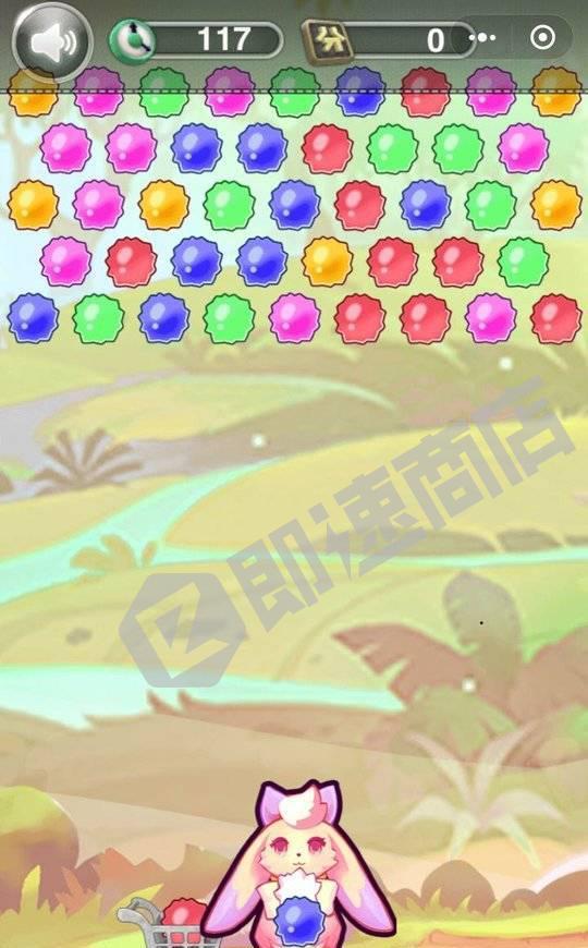 小动物泡泡龙小程序列表页截图