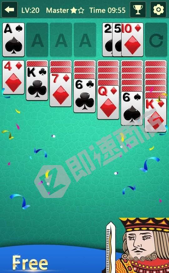 空当接龙棋牌游戏小程序详情页截图1