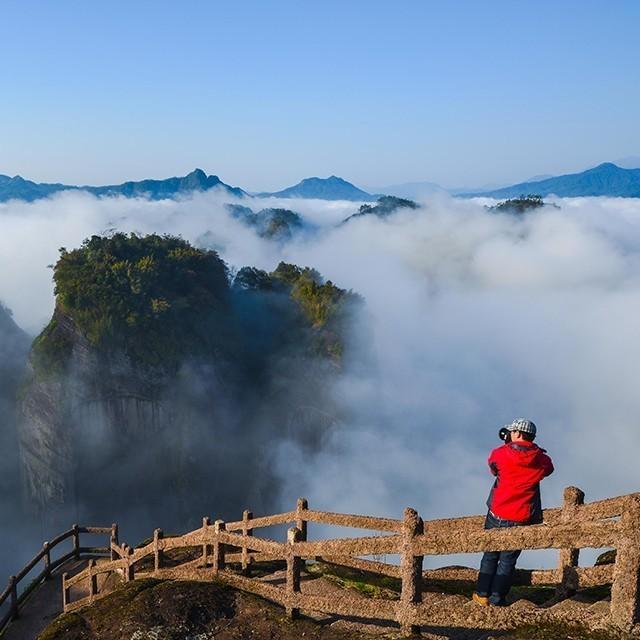 武夷山风景区微信小程序