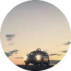新疆自由行旅游车队
