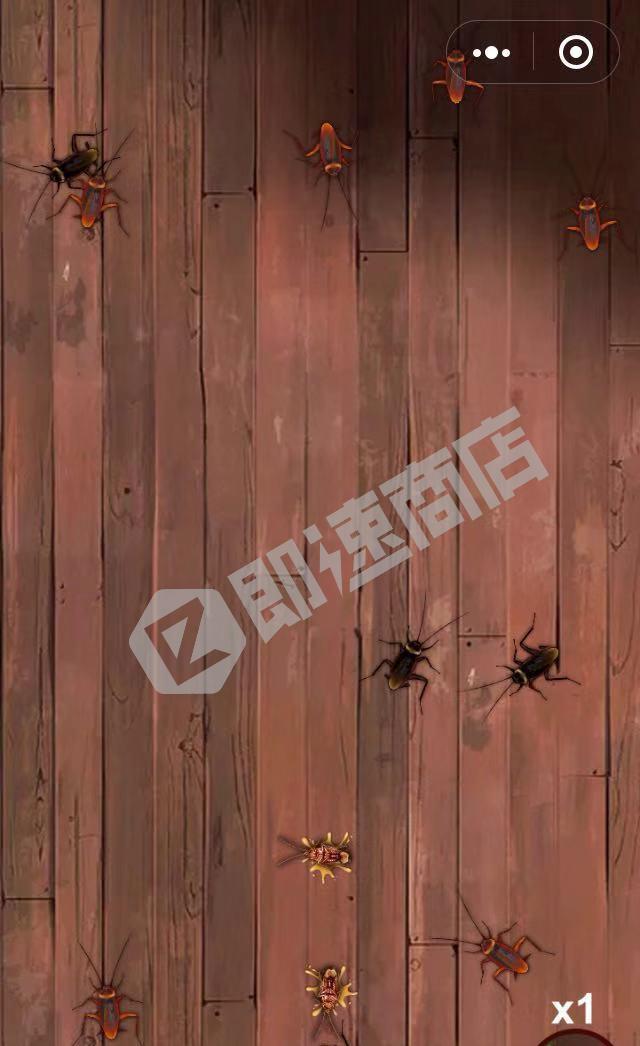 蟑螂小强大作战小程序详情页截图