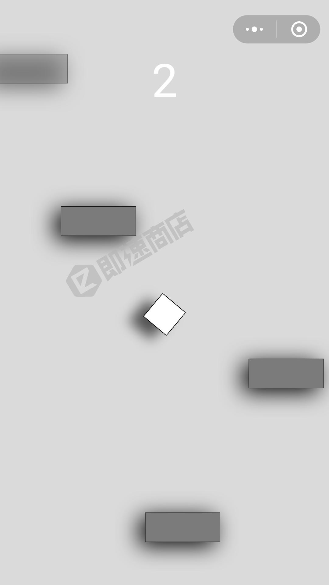 方块向上冲小程序列表页截图