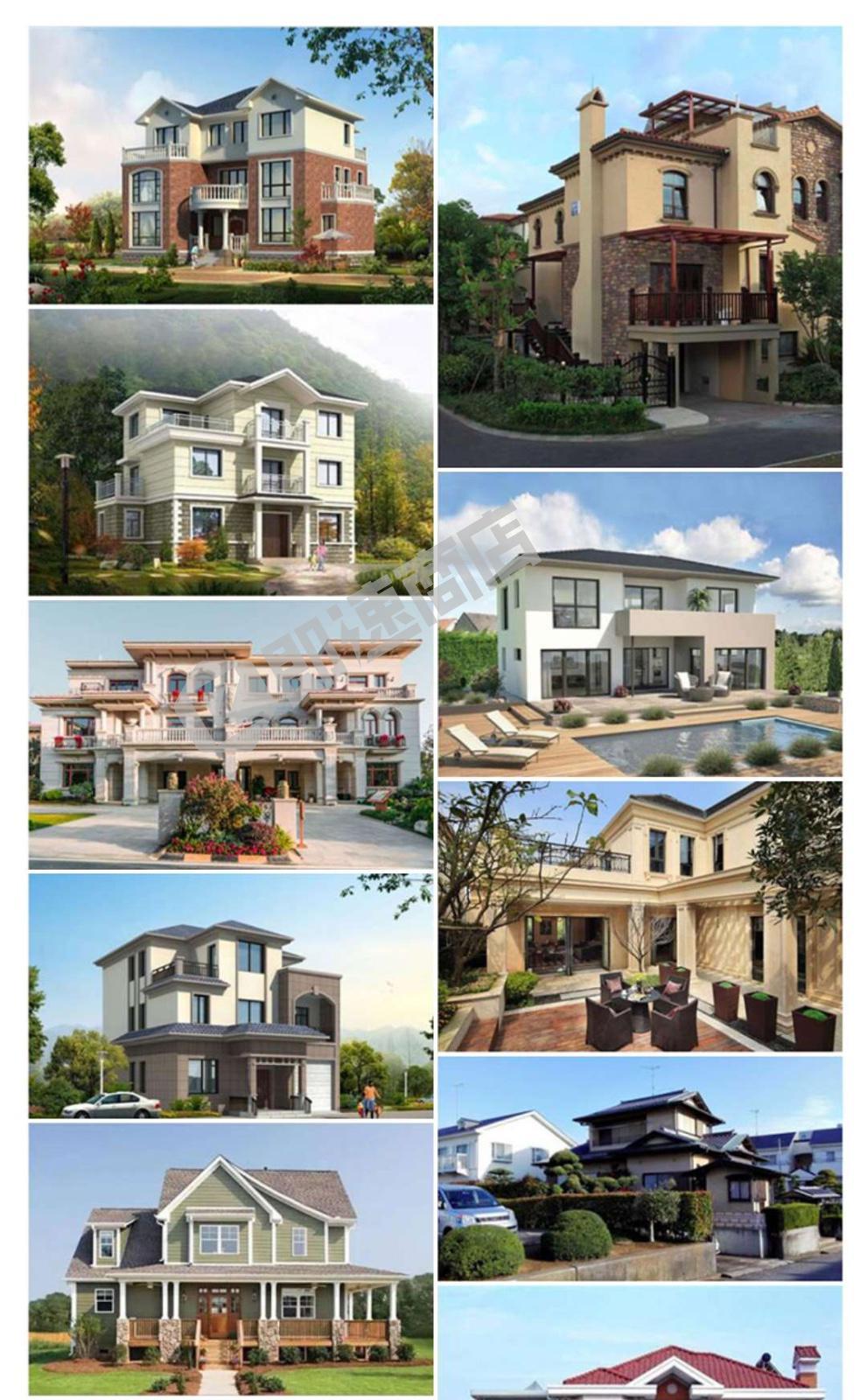 喜盖房房子设计小程序列表页截图