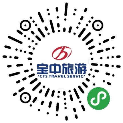 宝中旅游小程序模板二维码
